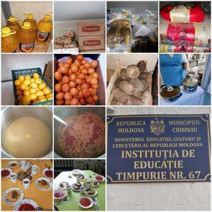 Administrația IET nr.67, str. Otovasca, 11 Vă informează că instituția este aprovizionată cu produse alimentare conform graficului